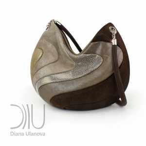 Womens Handbags Designer. Yin &Amp; Yang Brown by Diana Ulanova. Buy on women-bags.com