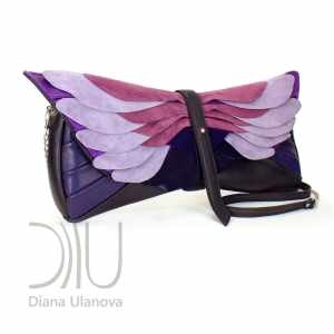 Luxury Clutch. Totem Clutch Black/Purple|Totem Clutch Black/Red by Diana Ulanova. Buy on women-bags.com