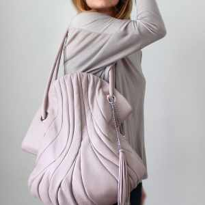 Shoulder Bags Designer. Elephant Grey by Diana Ulanova. Buy on women-bags.com