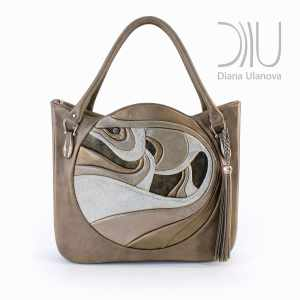 Designer Bags For Ladies. Fugu Beige by Diana Ulanova. Buy on women-bags.com