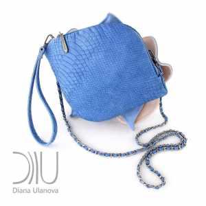 Designer Mini Handbags. Orchid Mini 14 by Diana Ulanova. Buy on women-bags.com