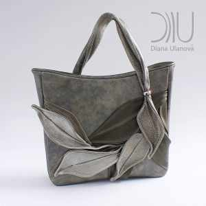 Luxury Handbags. Bamboo Dark Grey by Diana Ulanova. Buy on women-bags.com