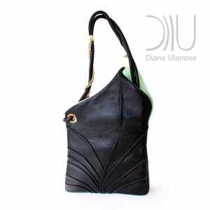 Women Designer Handbags. Calla Green 3 by Diana Ulanova. Buy on women-bags.com