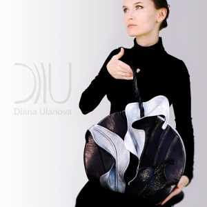 Womens Designer Hand Bags. Lily Black/Silver 3 by Diana Ulanova. Buy on women-bags.com