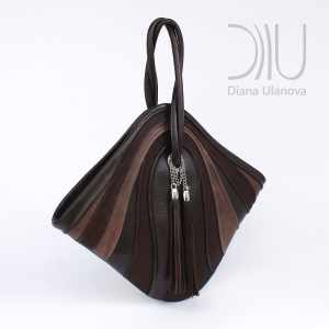Designer Bags For Women. Mignon Brown/Black by Diana Ulanova. Buy on women-bags.com