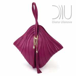 Top Handle Designer Bags. Mignon Pink by Diana Ulanova. Buy on women-bags.com