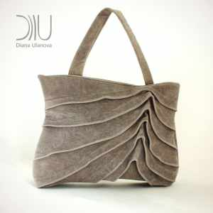 Designer Women Handbags. Reef Brown by Diana Ulanova. Buy on women-bags.com