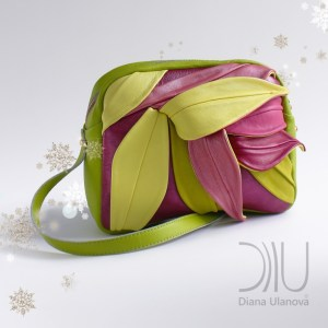 Micro Designer Bags. Bamboo_Mini Light Green by Diana Ulanova. Buy on women-bags.com