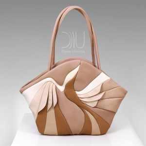 Designer Handbag. Paradise Bird Beige by Diana Ulanova. Buy on women-bags.com