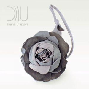 Over The Shoulder Bags Designer. Royal Rose Grey by Diana Ulanova. Buy on women-bags.com