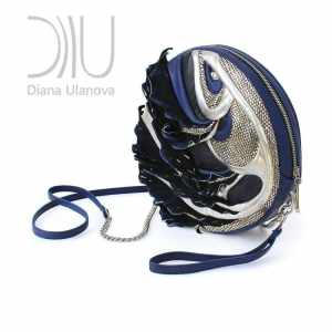 Mini Leather Bag. Fugu 9 by Diana Ulanova. Buy on women-bags.com