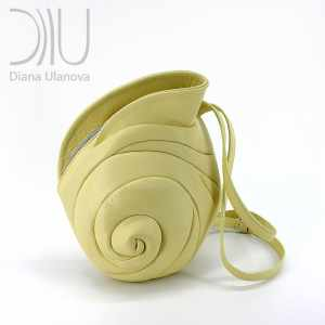 Designers Backpacks. Escargot White by Diana Ulanova. Buy on women-bags.com