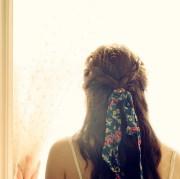 ribbon-hair-plait - women hairstyles