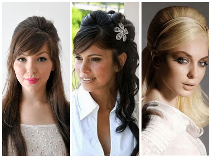 popular wedding hairstyles with bangs - women hairstyles