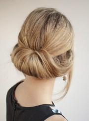 rolled-loose-bun-women-wear-work