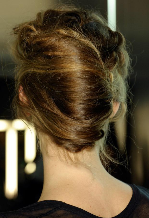 frenchtwistchignonhairstyle  Women Hairstyles
