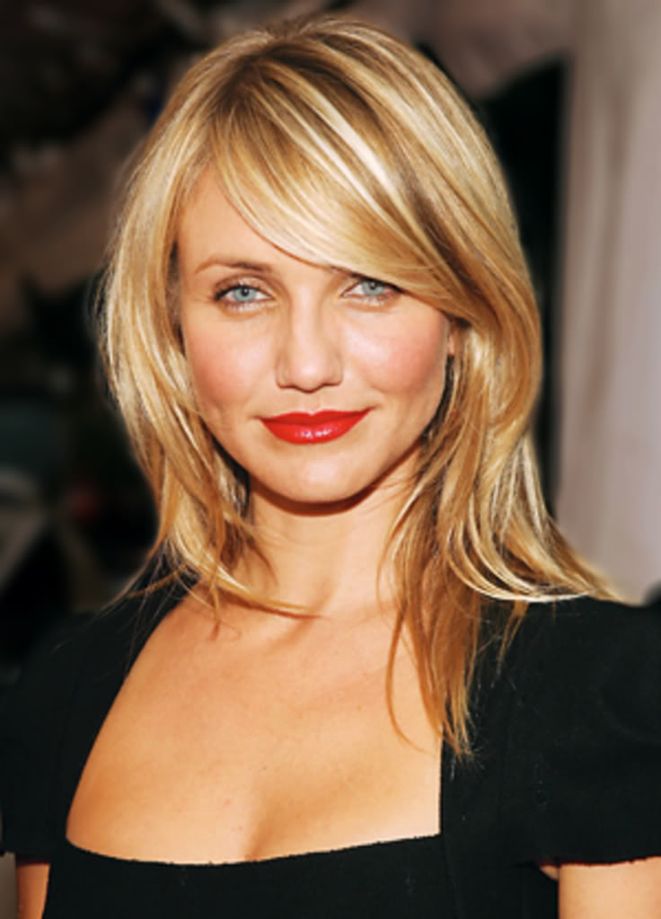 The Best Medium Length Hairstyles for Round Faces  Women