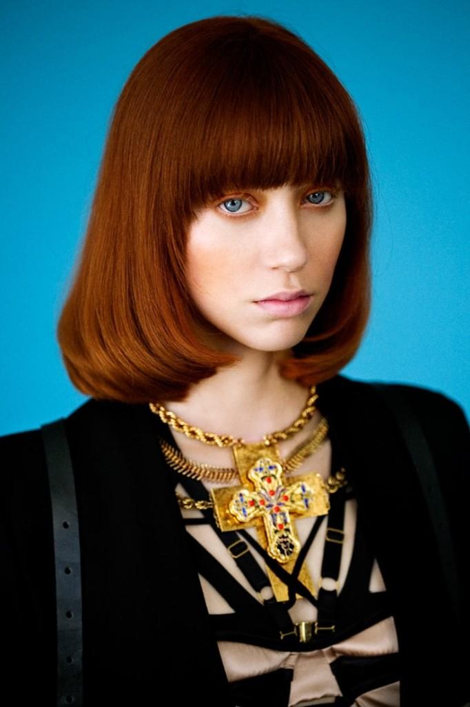 Medium Length Blunt Hairstyles Women Hairstyles