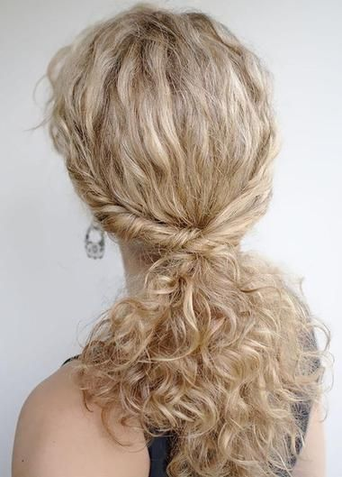 Hairstyles For Naturally Curly Hair Women Hairstyles