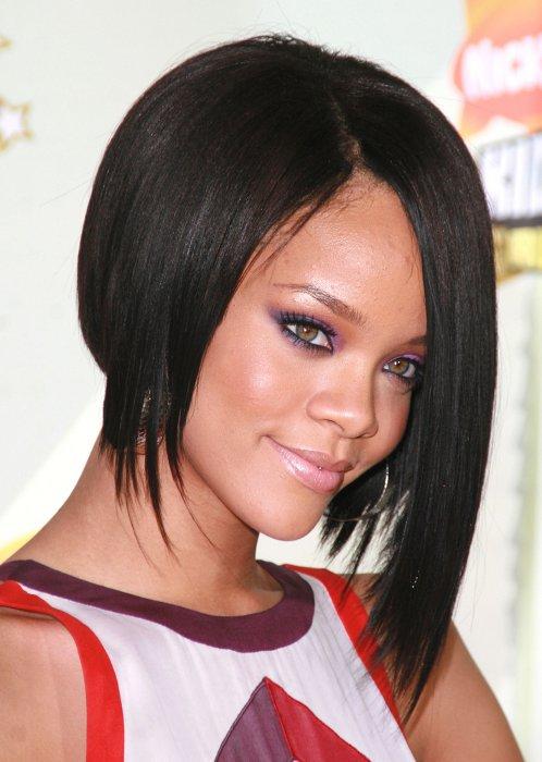 RihannaALineBobHairstylepng  Women Hairstyles