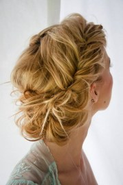 messy chic hairstyles
