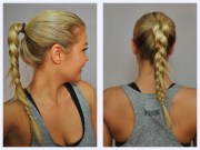 women hairstyles gym