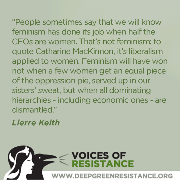 Lierre Keith on Feminism