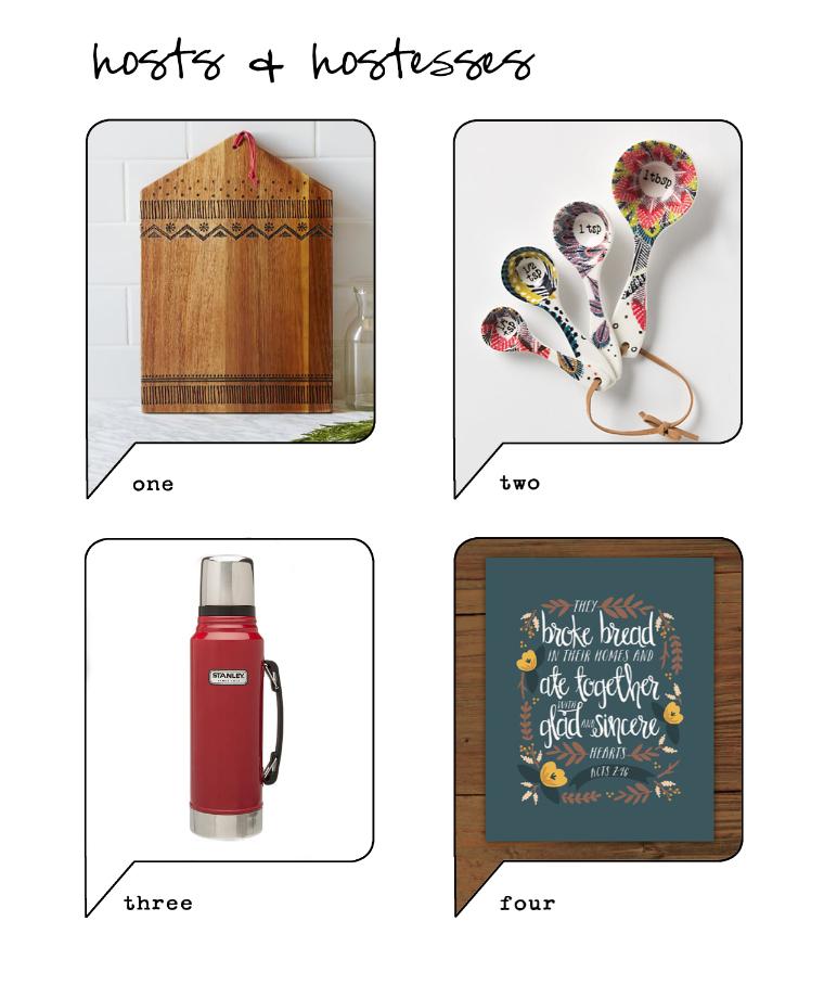 Gift Guide for Hosts Hostesses