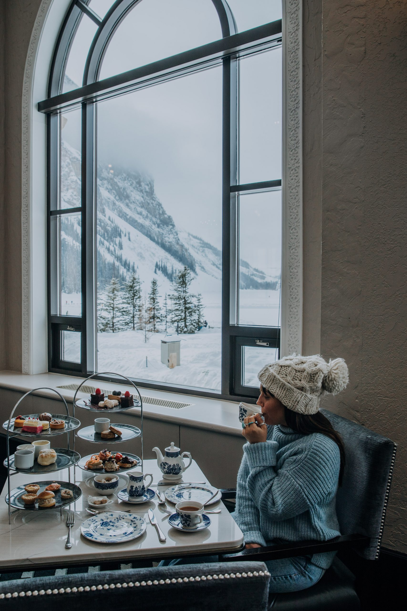 The Ultimate Banff Winter Guide - High Tea at Fairmont Chateau Lake Louise