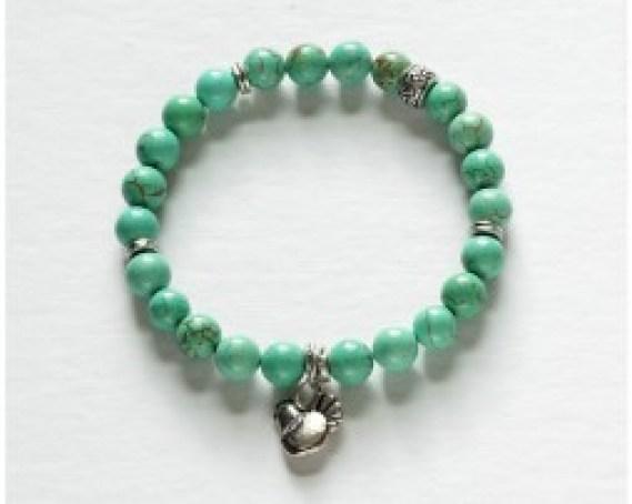 flashionista turquoise bracelet