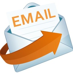 email for home page box