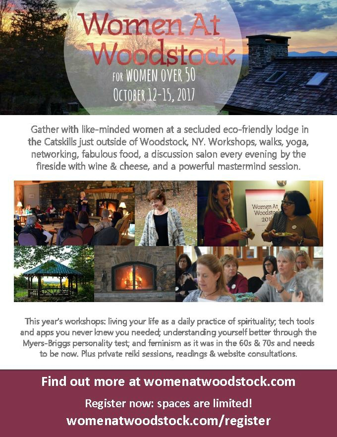 Women At Woodstock 2017 Flyer