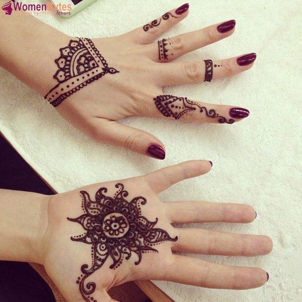 New Beautiful and Hot Mehndi Designs21
