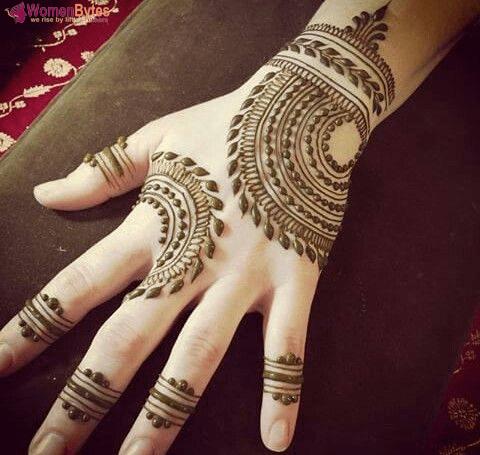 New Beautiful and Hot Mehndi Designs11