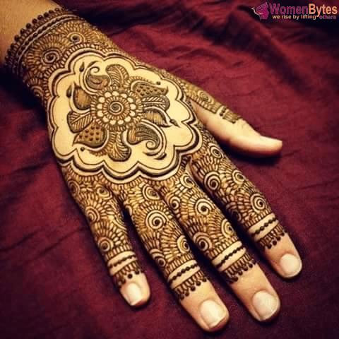 New Beautiful and Hot Mehndi Designs9