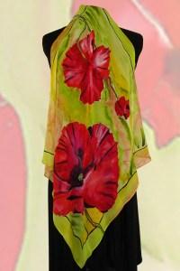 Handmade Silk Scarves & Shawls Lover