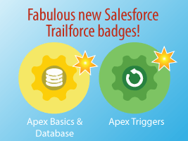 Fabulous New Salesforce Trailhead Badges!