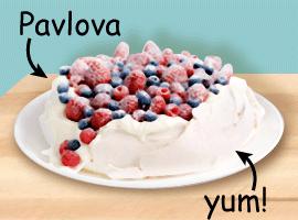 Yummy Pavlova!
