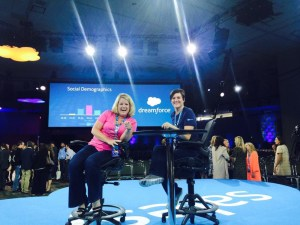 Angela Mahoney and I will be presenting the next Dreamforce Keynote (oh...wait...you need us to leave the stage now?)
