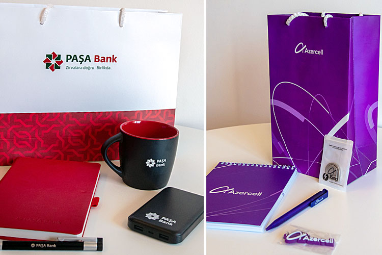 Registration pack - company promo products