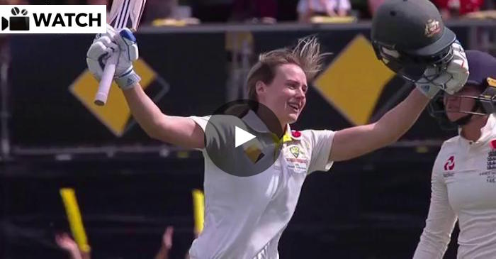 Ellyse Perry maiden Test century