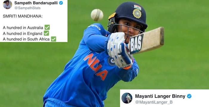 Smriti Mandhana ODI century
