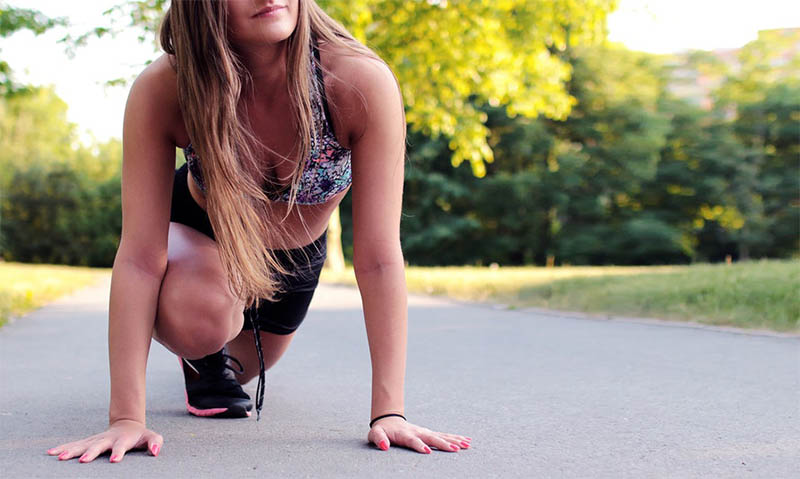 Stretching vóór het hardlopen