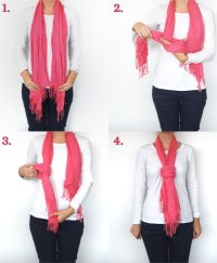 26 Techniques about How to Tie Scarf around your Neck ...