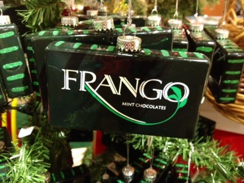 "©Laurel Delaney, 2012, ""Frango Mint Ornament"""