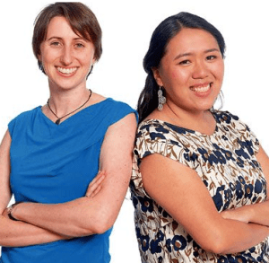 Jackie Stenson (L) and Diana Jue (R) of Essmart Global