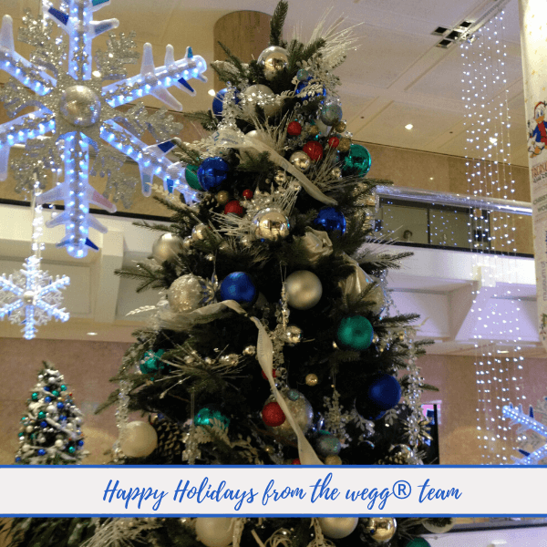 Happy Holidays from the wegg® Team!