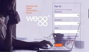 Sign up for wegg newsletter