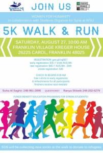 Women For Humanity 5K walk / Run