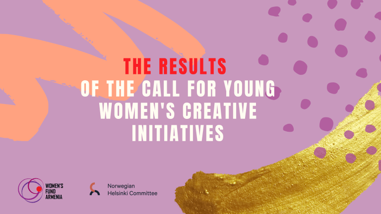 Results of the call for young women's creative initiatives